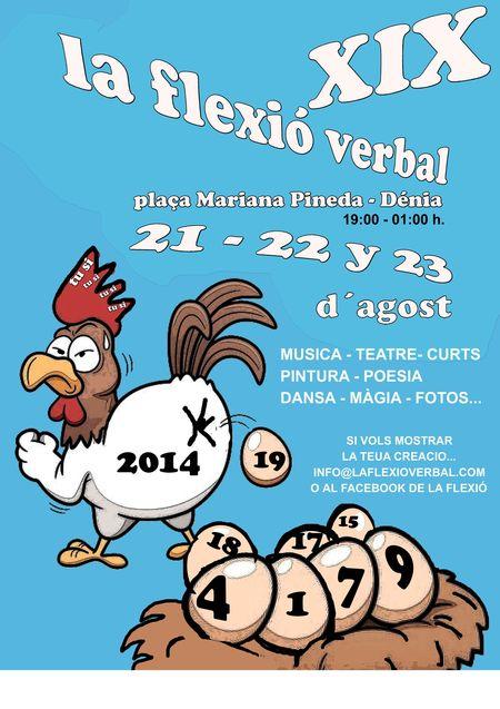 La XIX Flexió Verbal tendrá lugar del 21 al 23 de agosto