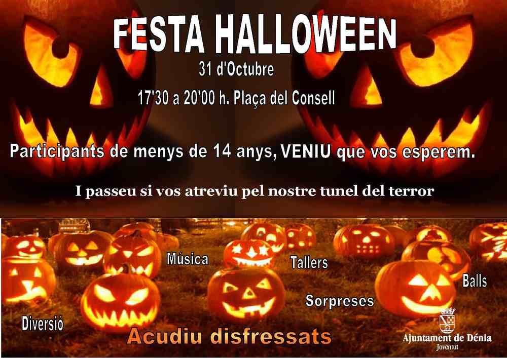 Juventud Organiza Una Fiesta De Halloween Participativa Y Con - Imagenes-terrorificas-de-halloween