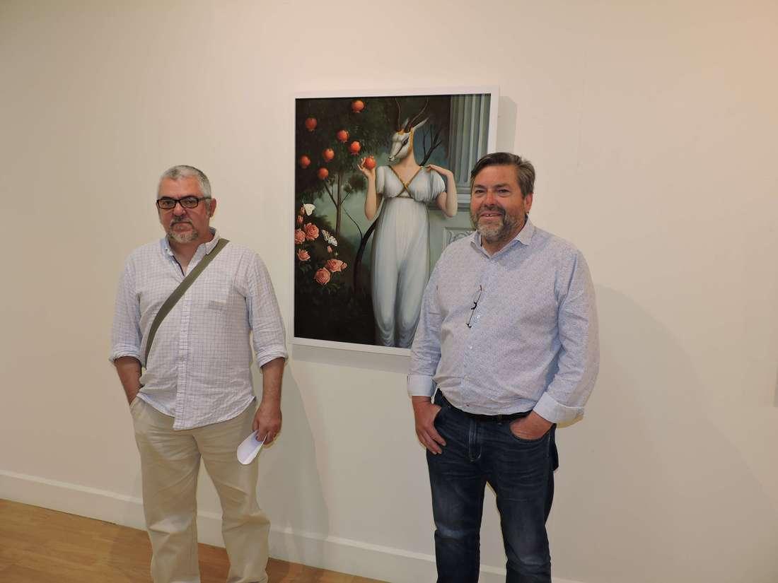 La obra del pintor alcudiano Josep Ros se muestra en el Centre d'Art l'Estació de Dénia