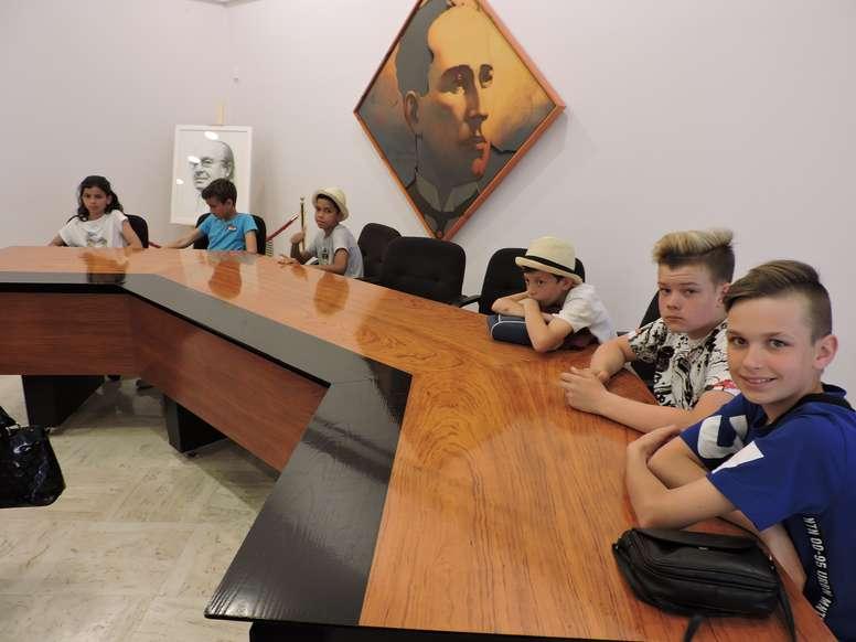 """Recepción a los colegios participantes en el proyecto educativo europeo """"The Sun and the Blue"""""""