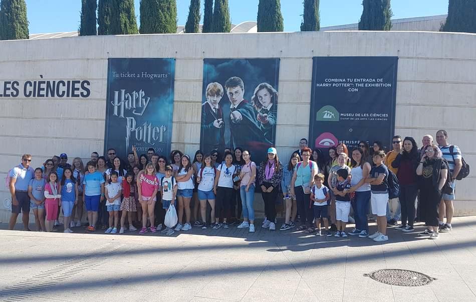 Joventut organitza una visita a l'exposició de Harry Potter a València