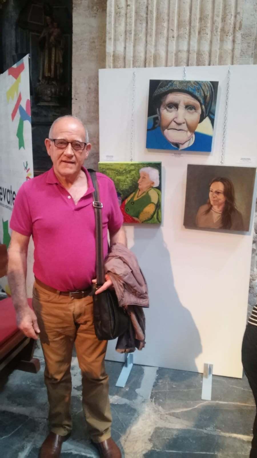 L'alumne de Dénia Juan Ruiz Úbeda guanya el concurs de pintura de les Aules de la Tercer...