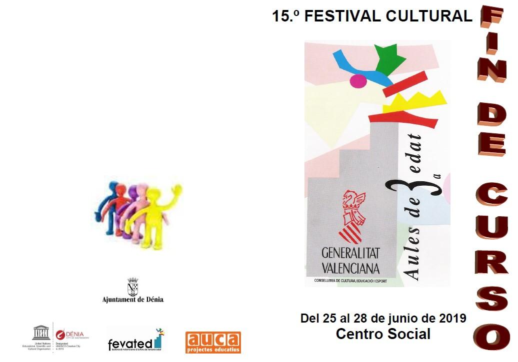 Las Aulas de la Tercera Edad despiden el curso con un festival cultural