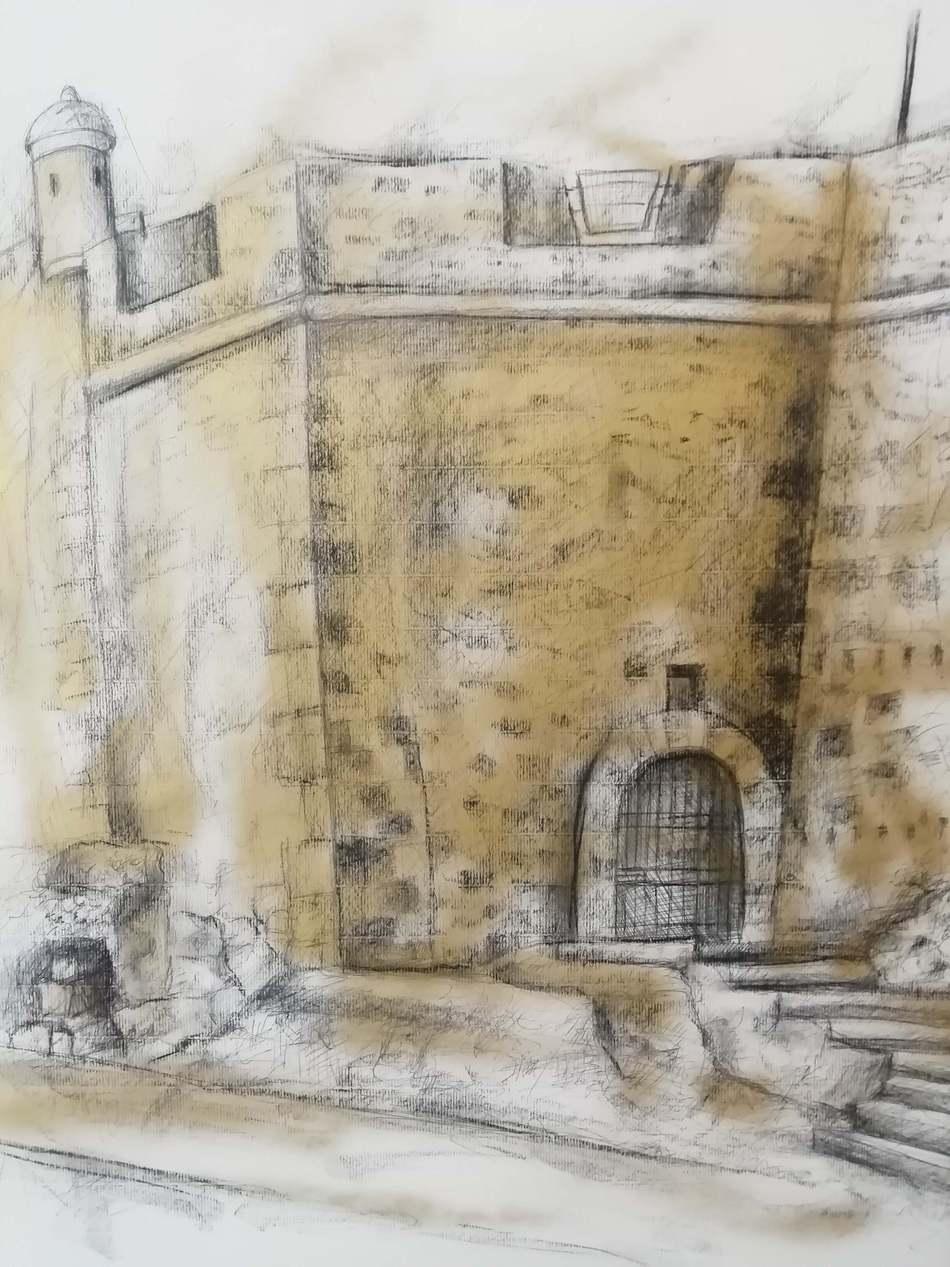 Obra de Toni Ortolá, premio al mejor artista de la comarca