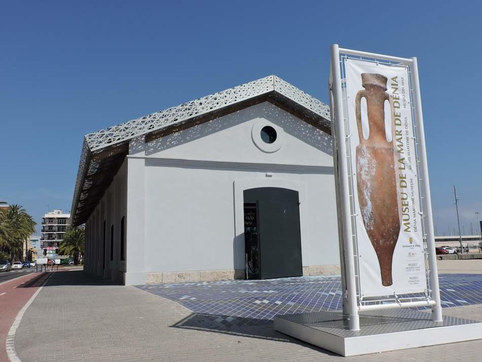 El Museu de la Mar de Dénia canvia l'horari d'obertura a partir de hui