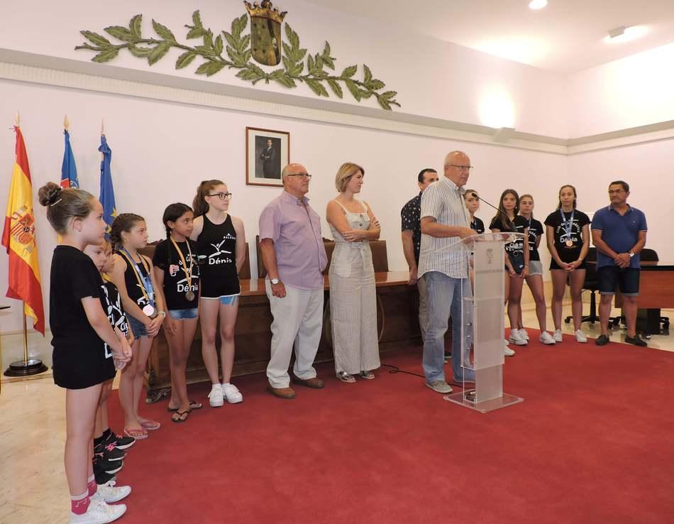 Foto Recepció al Club de Gimnàstica Dénia