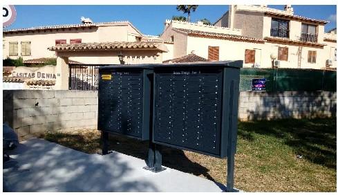 Foto L'Ajuntament de Dénia comença el repartiment de claus de les bústies pluridomiciliàries instal·lades en el disseminat