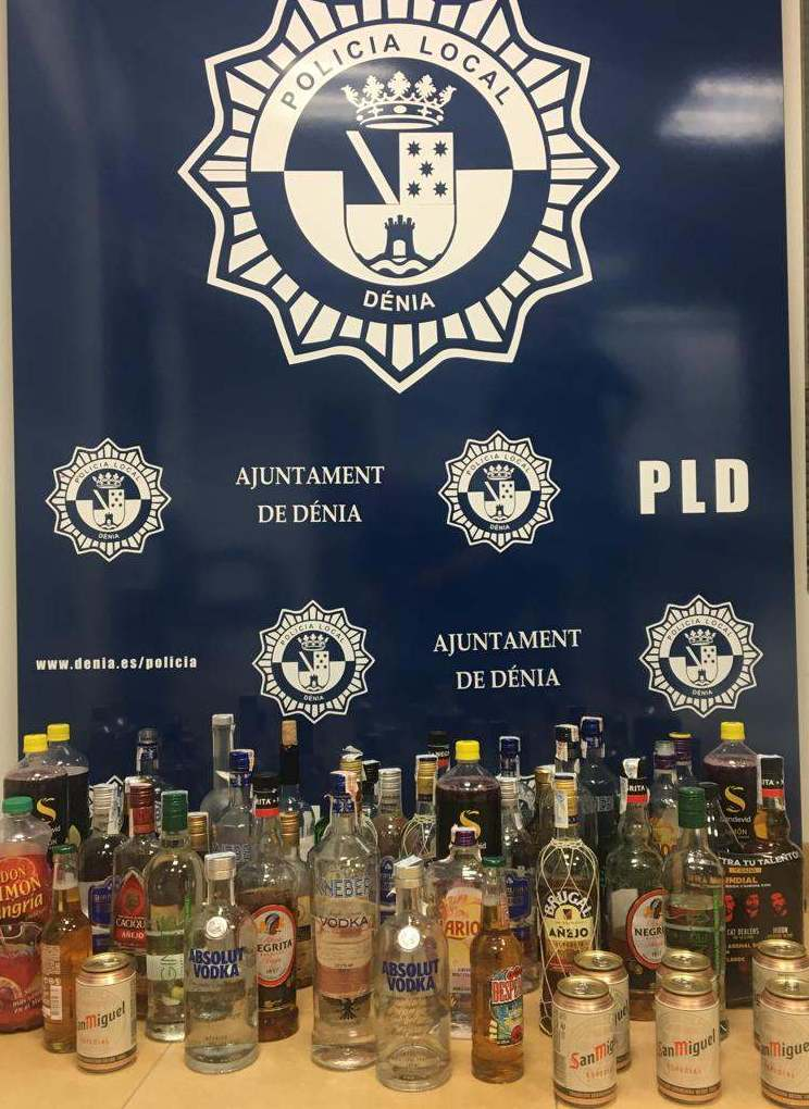 Un operatiu especial de la policia en locals i zones d'oci nocturn se salda amb 16 denúncies per consum d'alcohol en la via pública