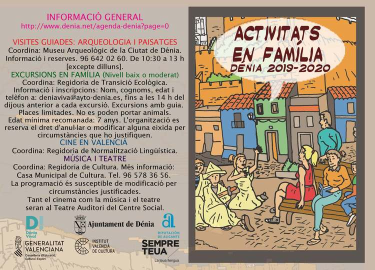 Foto Las concejalías de Cultura, Transición Ecológica y Normalización Lingüística presentan una n...