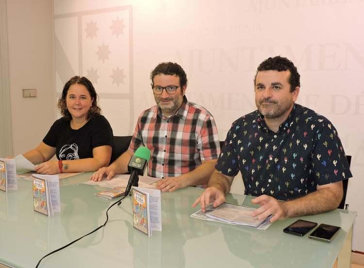 Las concejalías de Cultura, Transición Ecológica y Normalización Lingüística presentan una n...