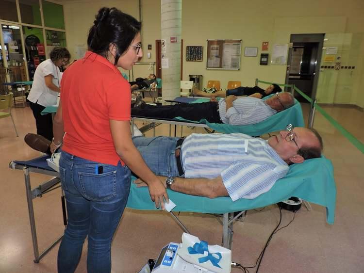 Arranca el Maratón de donación de sangre en el Centro Social de Dénia