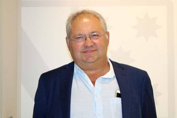 Mario Vidal (GD), nou regidor de desenvolupament del clavegueram en les zones de les Ro...
