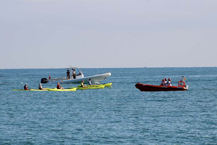 Foto Els participants de la jornada de neteja de la costa 'Per una mar neta' arrepleguen 661 quilograms