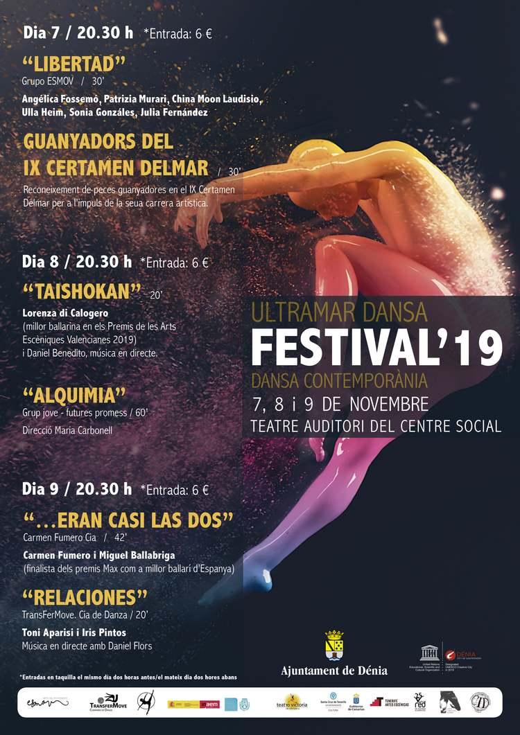 L'avantguarda es dóna cita en el festival Ultramar Dansa de Dénia