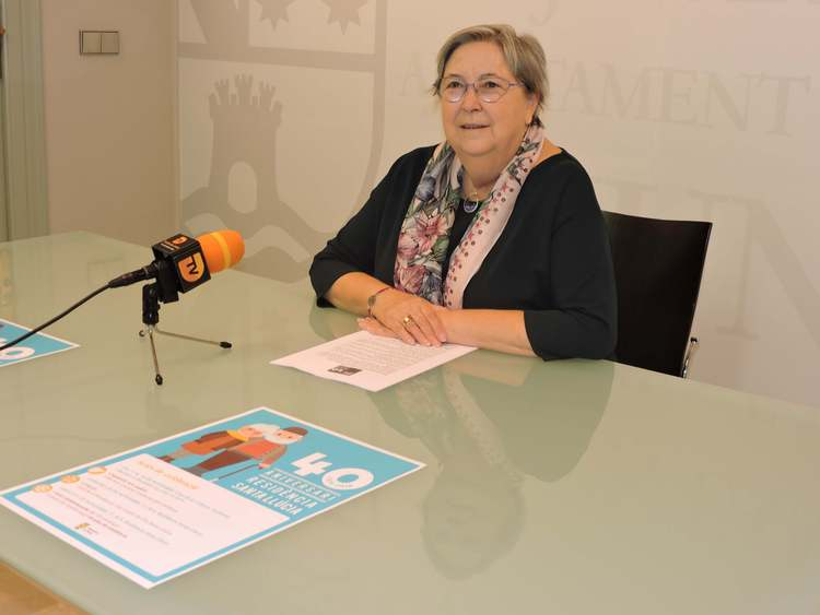 La residència municipal de persones majors Santa Llúcia celebra el 40 aniversari