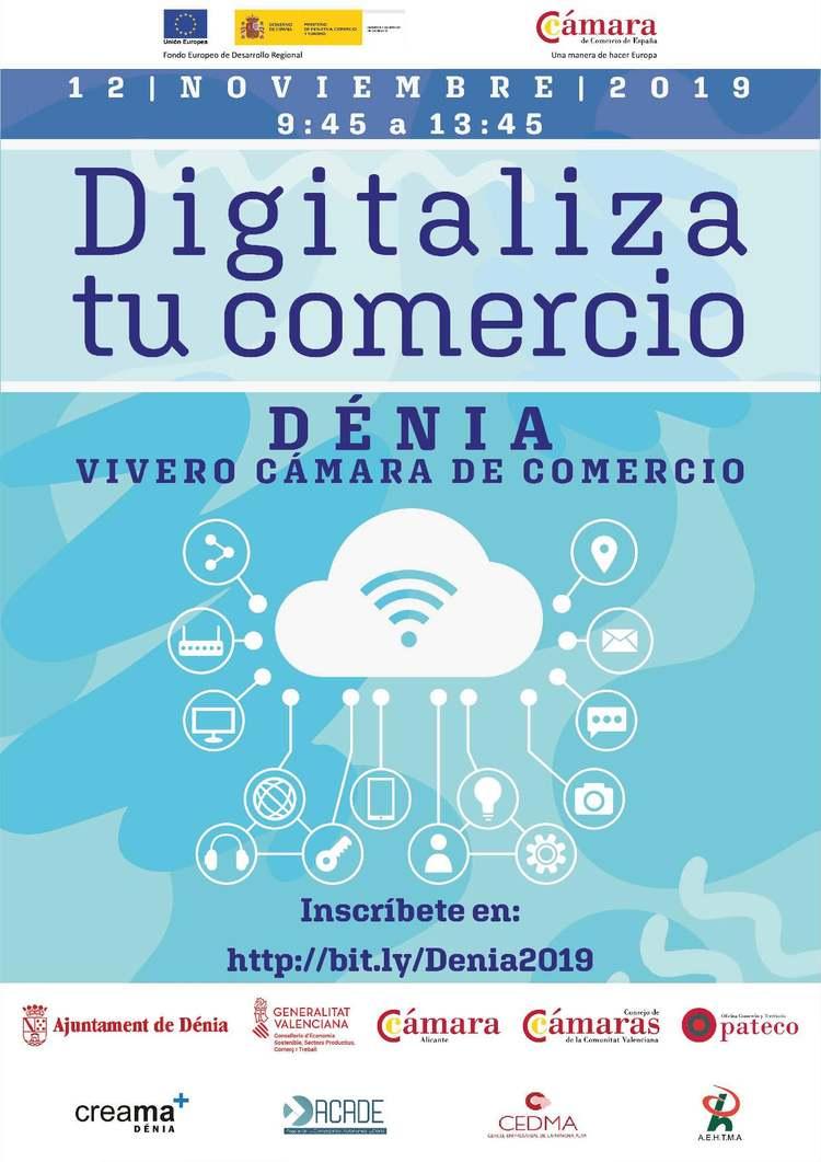 La jornada 'Digitalitza el teu comerç' analitza amb empresaris i comerciants el potencial de...
