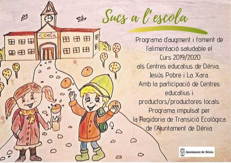 Dénia promou el consum de taronges de productors locals a les escoles