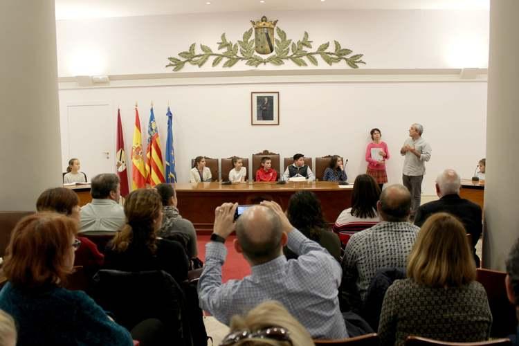 Foto Presentació del Consell Local d'Infància i Adolescència de Dénia
