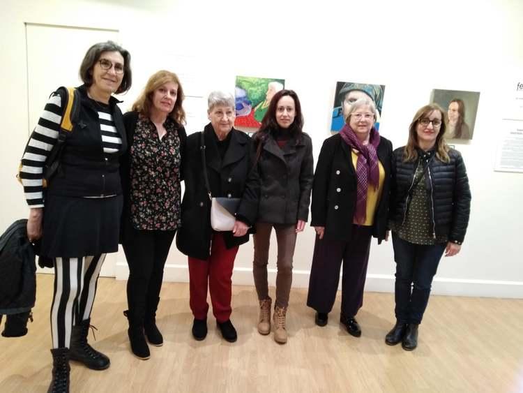 Foto L'exposició de pintura 'Rostros de mujer' es pot visitar en el Centre d'Art l'Estació