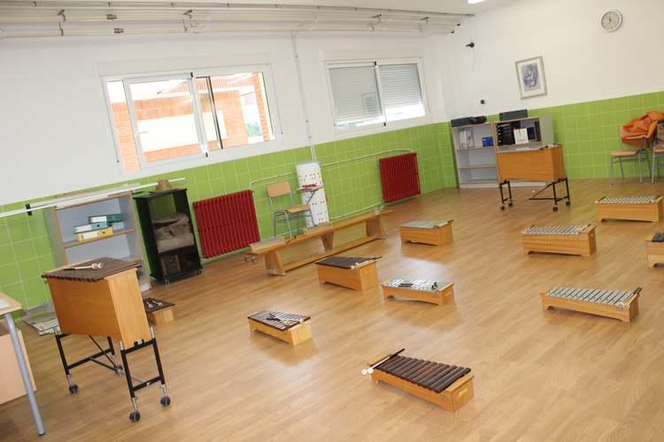 Visita al colegio Pou de la Muntanya después de las obras de reforma del centro