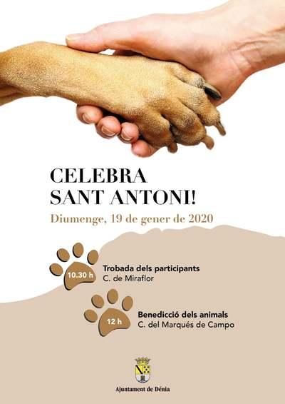 Benedicció d'animals per Sant Antoni
