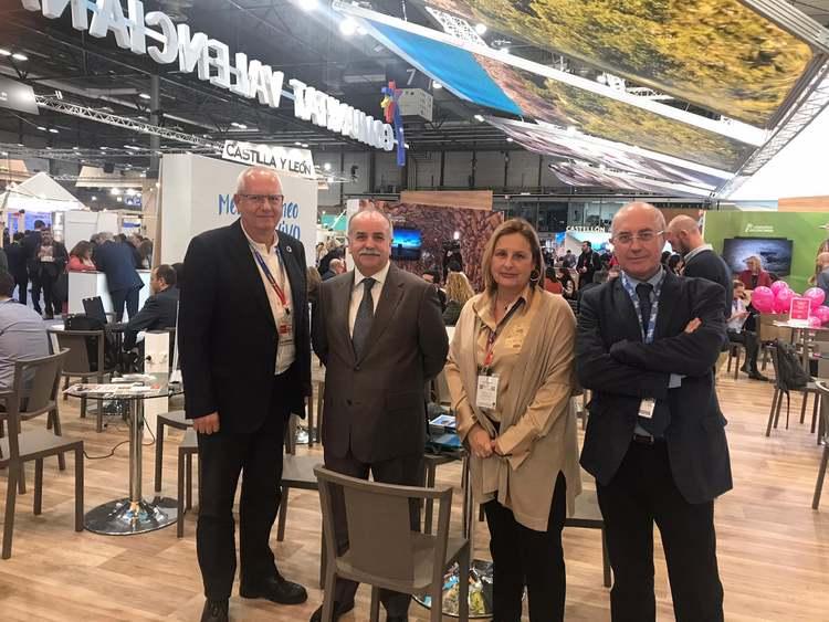 Foto L'alcalde amb el director de la FAO per a España