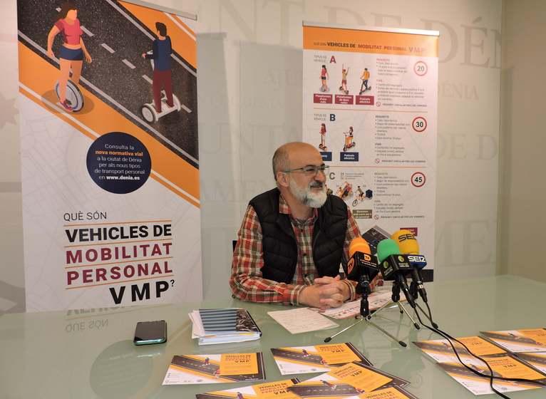 L'Ajuntament de Dénia llança una campanya informativa sobre els vehicles de mobilitat person...