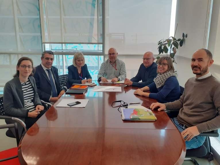 Reunió amb els directors generals de Ports, Transport i Urbanisme