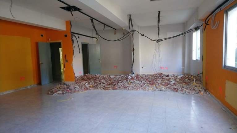 Empiezan las obras del espacio de arte dedicado al pintor y escultor Joan Castejón en la Cas...