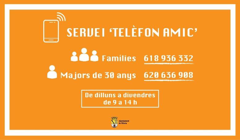 Foto Serveis Socials ofereix un servei telefònic de suport psicològic a la ciutadania