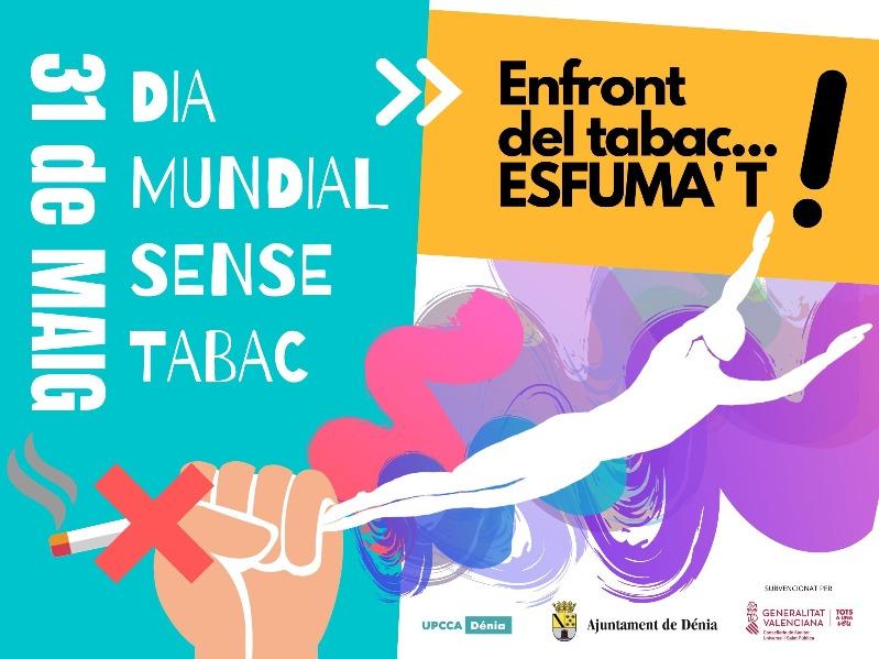 """Foto El eslogan """"Frente al tabaco... esfúmate"""", de Mayte Soler, elegido para la campaña..."""