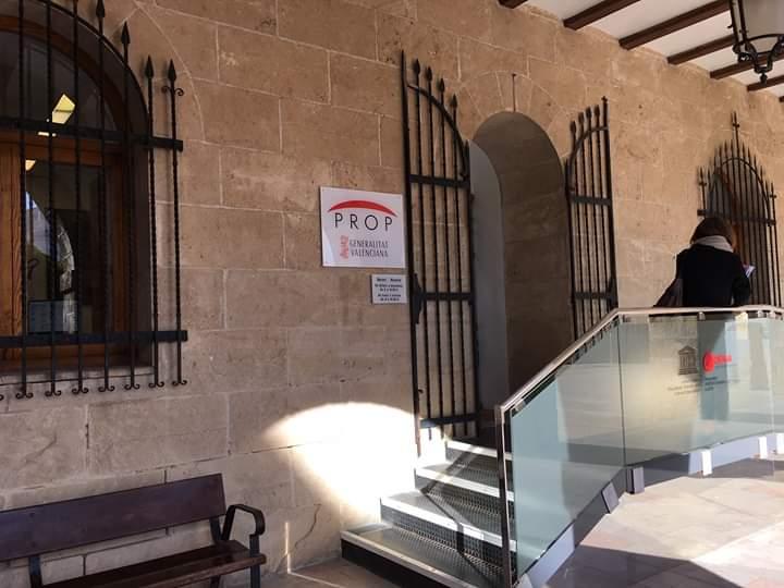 Foto L'oficina PROP de Dénia reobri al públic dimarts que ve