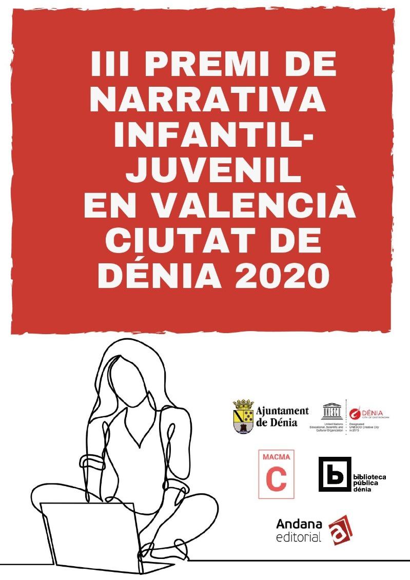 Setze obres opten al III Premi de Narrativa Infantil-Juvenil en valencià Ciutat de Dénia 2020