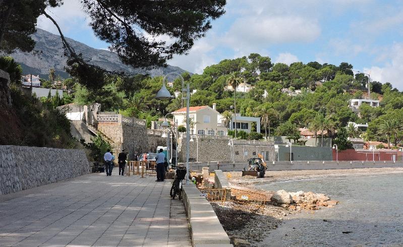 Costes inverteix 205.000 euros a reparar els danys provocats per la borrasca Gloria a les pl...