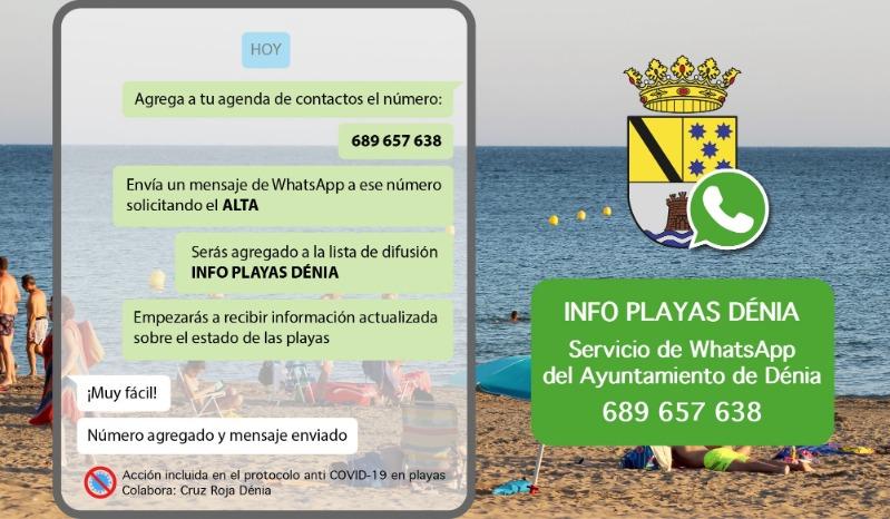 El Ajuntament de Dénia pone en marcha un servicio gratuito de información sobre el estado de...