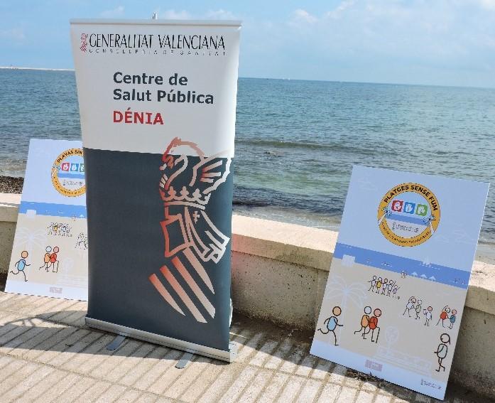 """Dénia s'adhereix a la xarxa valenciana de """"Platges sense fum"""""""