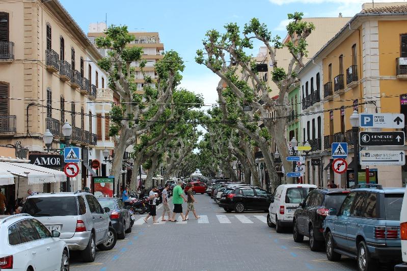 L'Ajuntament de Dénia projecta una reurbanització de la Glorieta que pose en valor aquest es...