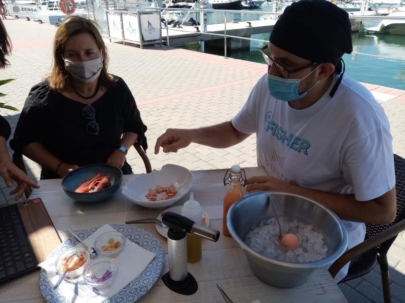 Dénia participa en la presentació institucional del Dia Mundial de la Tapa amb un plat de ga...