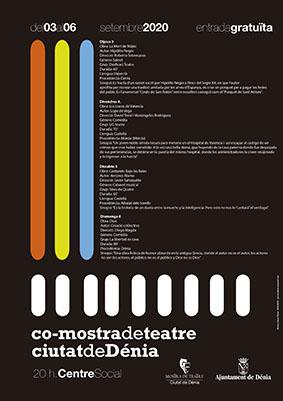 """Foto La Mostra de Teatre """"Ciutat de Dénia"""" se celebrará del 3 al 6 de septiembre con un..."""