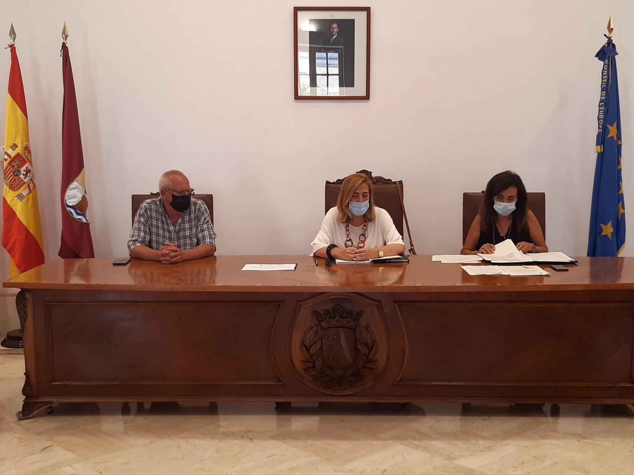 Reunión de la Junta Local de Seguridad de Dénia