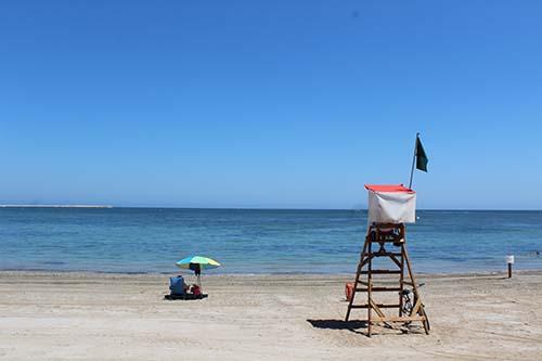 Reestructuración del servicio de vigilancia y socorrismo de Cruz Roja en las playas de Dénia