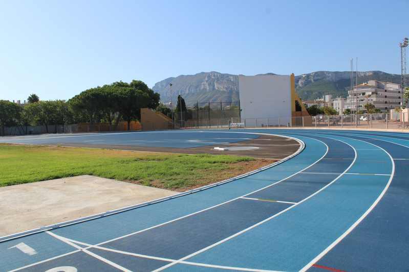 Reapertura de la pista de atletismo