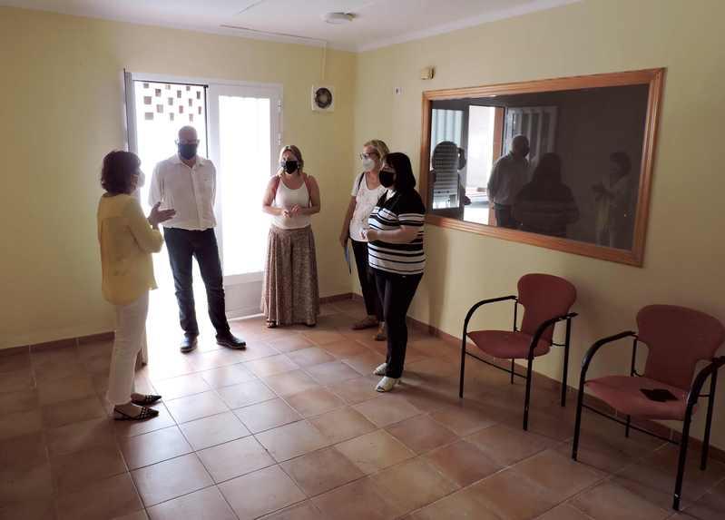 Visita a las instalaciones del Puntoo de Encuentro Familiar de Dénia