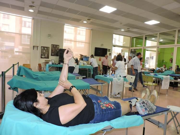 Dades de la jornada solidària de donació de sang en el Centre Social