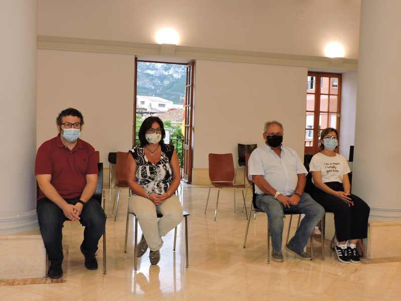 El Ajuntament de Dénia y la Universidad de Alicante acuerdan constituir una comisión mixta c...