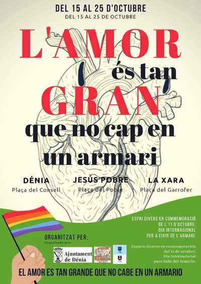 """La Regidoria d'Igualtat i Diversitat organitza la campanya """"L'amor és tan gran que n..."""