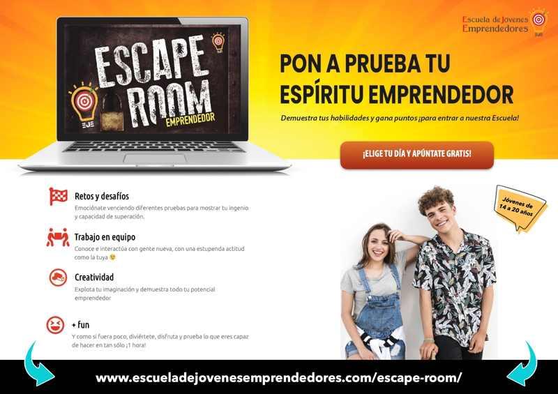 Foto 'Escape rooms' virtuales para seleccionar al alumnado del nuevo curso de la Escuela ...