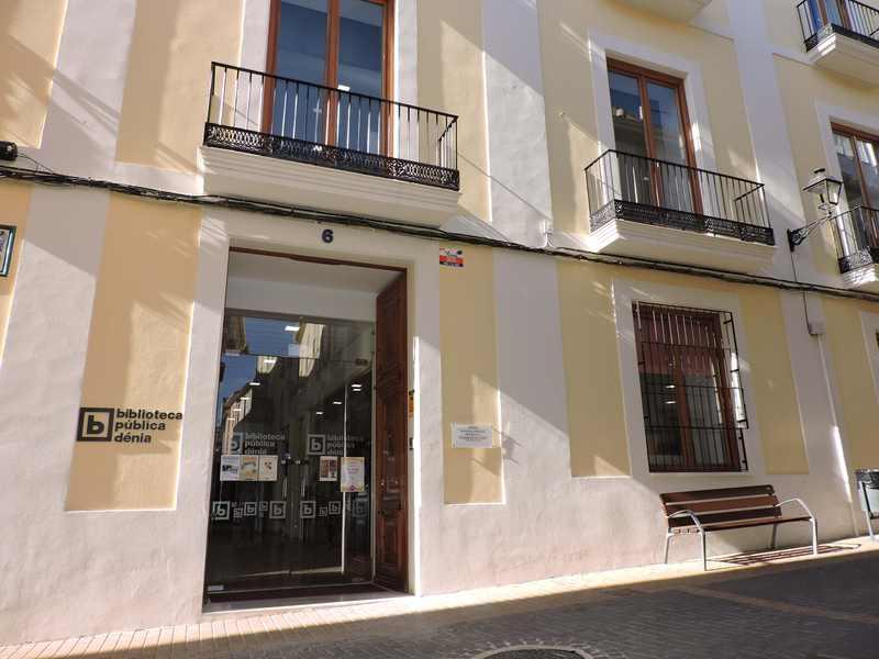 La Biblioteca Municipal de Dénia rep 53.622 euros en subvencions de la Generalitat Valenciana
