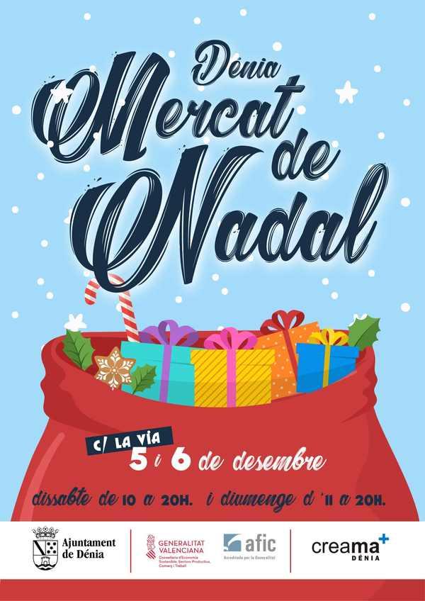 Foto La Concejalía de Comercio organiza un Mercado de Navidad en la calle La Vía este fin de semana