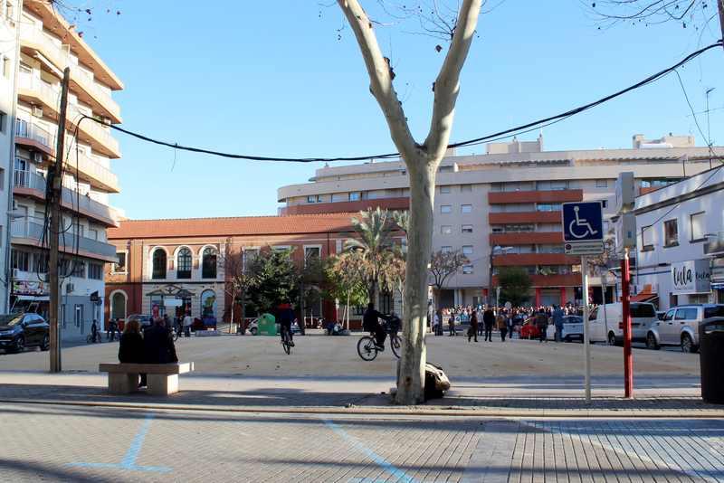 Foto La ciudadanía propone que el solar de Marqués de Campo se convierta en un espacio verde de e...